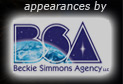 appearances by Beckie Simmons Agency