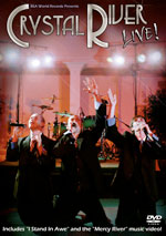 Crystal River - Crystal River LIVE! - DVD cover